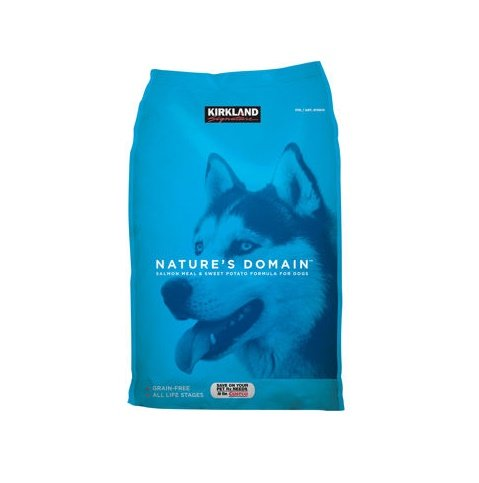 Kirkland Signature Nature's Domain Salmon Meal and Sweet Potato reviews