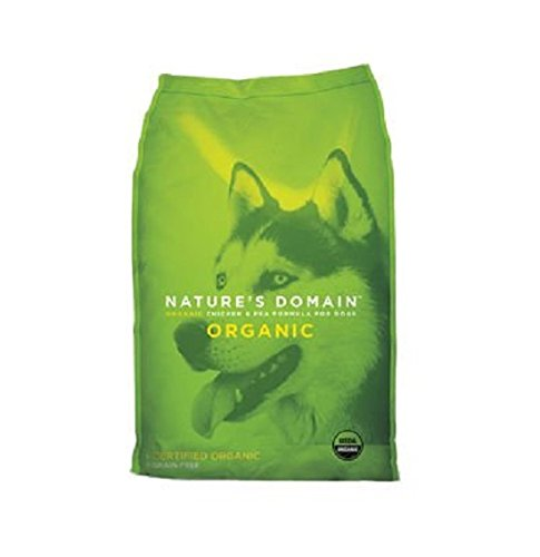 Kirkland dog food review - Signature Nature's Domain Organic Chicken & Pea review