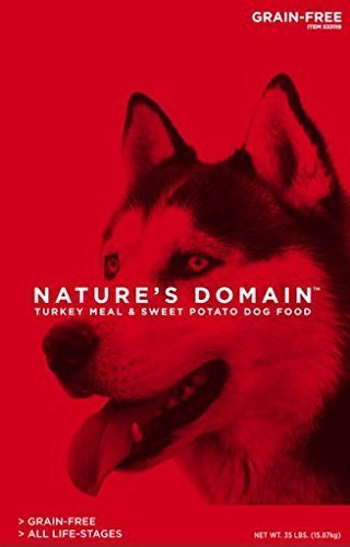 kirkland_dog_food_review_Kirkland Signature Nature's Domain Turkey Meal & Sweet Potato review